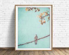 bird photograph instant download printable art large art