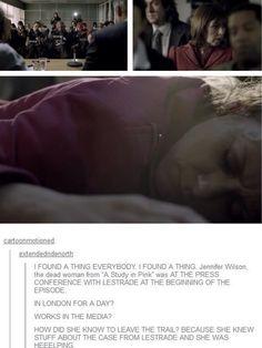 It's a Sherlock thing!
