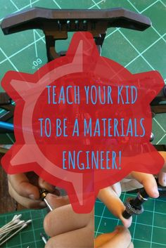 While fixing my son's toy, we taught him about Materials Engineering.