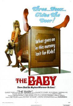 Ruth Roman in The Baby - 1973 Baby Posters, Movie Posters, Ruth Roman, Mother Son Relationship, Baby Movie, Baby Jane, Usa Baby, Cult Movies, Horror Movies