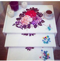 #sehba 101 den tasarım bende çiçekler çk yakıştı#