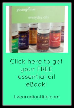 "Click here to get your free #essentialoils eBook ""110 Way to Use Essential Oils"".  http://livearadiantlife.com/free-ebooks/free-essential-oils-ebook/"