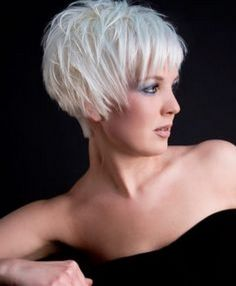 Short Messy Cuts | ... To Go Gray Gracefully | 4. Go Short with Gray Hair | Style Goes Strong