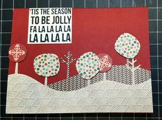lawn fawn trees kaleidoscope sentiment