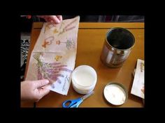 Decoupage, Make It Yourself, Tableware, Youtube, Diy, Do It Yourself, Dinnerware, Bricolage, Dishes