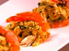 Jalapeno and Crab Stuffed Shrimp Recipe : Aaron McCargo Jr. : Food Network