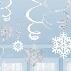 Sneeuwvlok Swirls 12 stk - Sisters in Wonderland