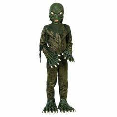 Swamp Monster Childs Costume