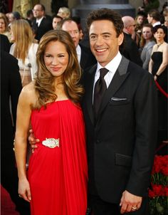 Robert Downey Jr. and his wife, Susan, attend the 81st Academy Awards at the Kodak Theatre in Los Angeles on Feb. 22, 2009.