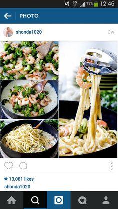 #pasta #gambas #healthy