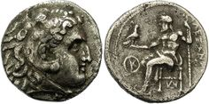 Macedonian Kingdom, Antigonos I Monophthalmos, 320 - 306 B.C., In the Name and Types of Alexander the Great