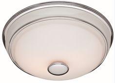 Victorian 90 CFM Bathroom Fan with Light