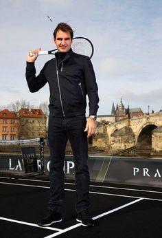 Roger Federer - Laver Cup - Février 2017 - Prague