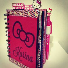 DIY Hello Kitty Planner // Craft Room Secrets