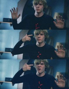 american horror story.  First season he was such a creep!  Can't really get into the second one.  I am so behind
