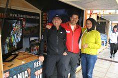 Marino y Lauren, dos grandes amigos y transvulcaneros nos acompañaron en Chamonix
