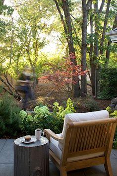 Custom outdoor furniture by Lisa Holt, Dezignwrks
