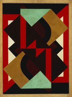 Composition (1921) by Auguste Herbin