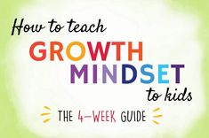 This step-by-step article explains how to teach kids the power of their mind and help them develop a growth mindset. Includes handouts for parents and classrooms, videos, resources, and activities for children.