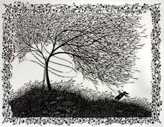 This illustration is breathtaking. I Opened My Heart Paper cut illustration by Rob Ryan. Fine Art, Royal College Of Art, College Art, Screen Printing, Abstract Artwork, Art, Woodcut, Beautiful Love Letters, Paper Art