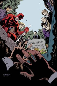 Daredevil #5 by Chris Samnee
