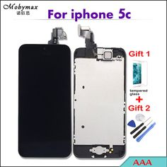 Pantalla Screen For Iphone 7 4.7 Inch Lcd Display Touch Screen Digitizer Assembly Replacement Parts+2 Free Gift Mobile Phone Lcds Cellphones & Telecommunications Self-Conscious Mobymax Aaa++