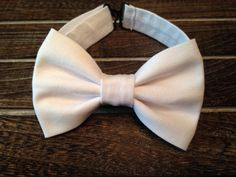 White Bow Tie Baby Bow Tie Infant/Toddler Bow Tie by BrileyBean, $10.00