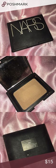 NARS Laguna Bronzer Used a few times but it's just not my color Sanitized  Authentic as always Sephora Makeup Bronzer