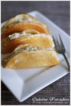 Durian Pancake, Durian Steamed Cake and Durian Egg Custard