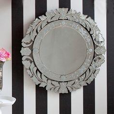 Fancy Floris Venetian Mirror Small / Wall Mirrors Mirrors & Screens French Bedroom Company