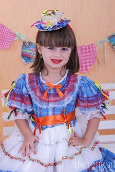 Vestido de festa junina infantil imagens