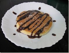 IMG_3953 Pancakes, Pork, Meat, Breakfast, Desserts, Abs, Workout, Kale Stir Fry, Morning Coffee