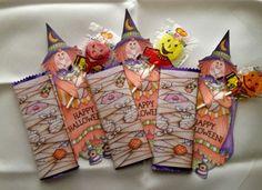 Halloween: Envoltorios para Golosinas y Chocolates para Imprimir Gratis. | Ideas y material gratis para fiestas y celebraciones Oh My Fiesta!