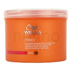 Wella Professionals Enrich Moisturizing And Nourishing Mask For Thick, Coarse And Dry Hair (Moisturizing Treatment) 17 oz