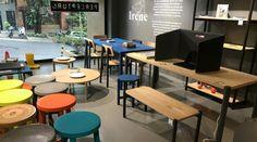 No te pierdas la increíble propuesta de mobiliario de Perceptual. Diseño. Mobiliario. Madera. Color. Mueble. Estantería. Silla. Mesa. Encuentra dónde comprar este diseño y Producto en Colombia.