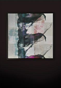 Acrylic coated Fine Art Giclée print Size: 120 cm x 120 cm Art Series, Giclee Print, Fine Art, Contemporary, Interior, Artwork, Painting, Design, Kunst