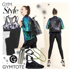 """GYMTOTE 2"" by gaby-mil ❤ liked on Polyvore featuring NIKE, Madewell, Superdry, backpack, tote and gymtote"