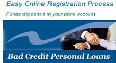 Concept Of Bad Credit Personal Loans And Its Advantages!