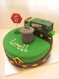 Garbage Truck Cake $195 • Temptation Cakes | Temptation Cakes