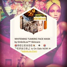 WHITENING TUMERIC FACE MASK by OmbrèLox™ Skincare  is On Sale NOW at...