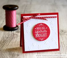 Teneale Williams   Stampin'Up! Artisan Blog Hop   Among the Branches Stamp Set