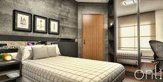 quarto cinza madeira - Pesquisa Google