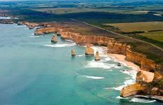 Australia's most famous scenic drive: The Great Ocean Road. Photo: iStock
