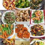 100 Healthy Holiday Side Dish Recipes - a HUGE collection of colorful side dishes for your holiday table, sorted by vegetable and color to round out your menu