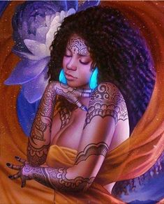 The African art depot photography Art Black Love, Sexy Black Art, Black Girl Art, Art Girl, Fantasy Wesen, Fantasy Art, Art Beauté, Arte Black, Art Et Design