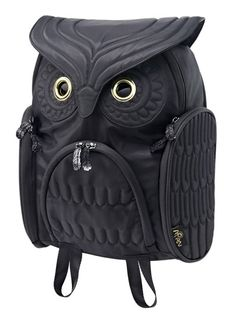 smtb-ms】【MORN CREATIONS】OWL Classic Bag Pack(Black)
