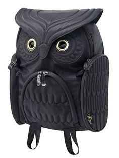 smtb-ms】【MORN CREATIONS】OWL Classic Bag Pack(Black)