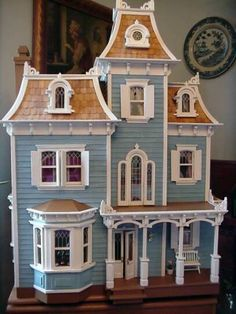 1000 ideas about beacon hill dollhouse on pinterest for Victorian style kit homes