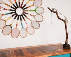 I need some more old racquets so I can do this (: