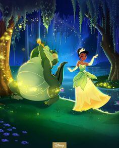 Tiana and louis Tiana Disney, New Disney Princesses, Disney Nerd, Disney Music, Walt Disney, Disney Characters, Princesa Tiana, Frog Wallpaper, Disney Wallpaper